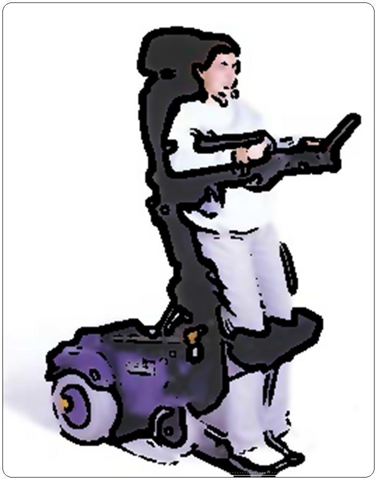 La carrozzina per disabili si guida con il respiro di - Carrozzina per bagno disabili ...